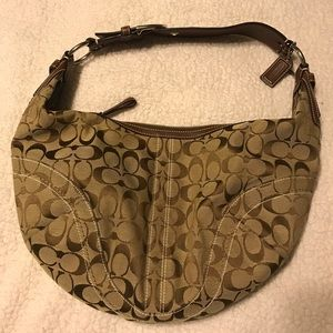 Coach Bags - Coach Signature Shoulder Bag & Wallet